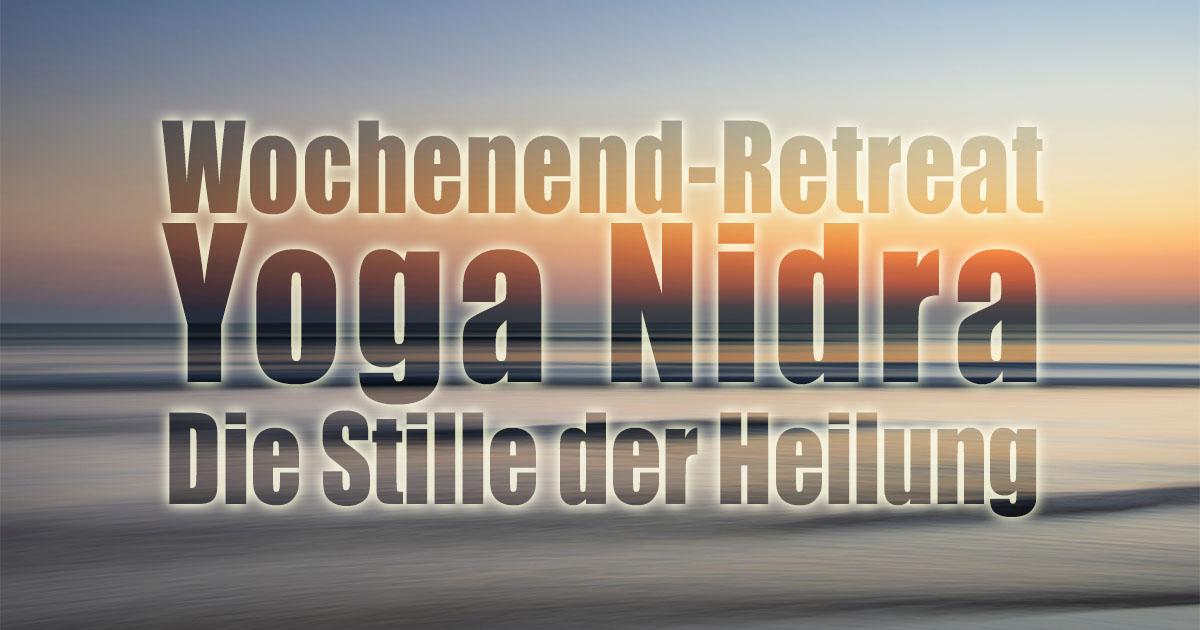 2020 03 20 Yoga Nidra Retreat Bad Meinberg von Santosha Yoga Michael Nickel im Seminarhaus Shanti Yoga Vidya