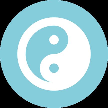 Yin Yang Santosha